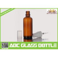 China China Supplier  Big Sell 100ml Amber Glass Bottle Essential Oil Use wholesale