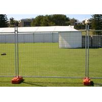 China Steel Austrilia Portable Temporary Fencing 2.4x2.1 Meter Customized wholesale