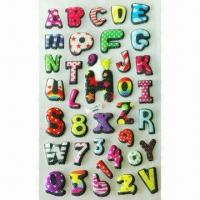 China 3-D Puffy/Foam Stickers, Available in Various Styles and Designs, OEM Orders are Welcome wholesale