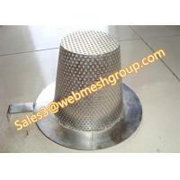 China Flat top conical strainer for pipeline filtration wholesale