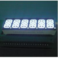 China Six Digit 14 Segment LED Display 80-100mcd/ Dice Luminous Intensity Easy Mounting wholesale