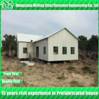 China Special Design Steel Structure building prefab house kits for Malaysia on sale