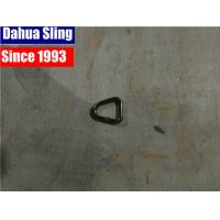 China Silver 25mm D Ring Tie Down Strap Hooks Stainless Steel 2500 Lb B.S. wholesale