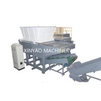 China Nylon Wire Single Shaft Shredder Machine With CNC Processing Rotor / PLC Program Control wholesale
