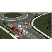 China Solar Powered Wired Traffic Control Systems Safety Islands Circle B07 wholesale