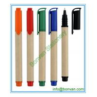 China paper ball point pen, paper material ballpen for promotional use wholesale