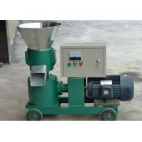 China Energy - Saving Flat Die Electric Pellet Mill for Grass / Wood / Hops 2.2 kw wholesale