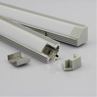 Quality OEM 30w Extrusion Aluminium LED Profiles Heatsink Cooling For Led Strip / Light fixtures for sale