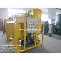 China Vacuum Turbine Oil Purifier | Emulsified Turbine Oil Separator Model TY-100(100LPM) on sale
