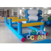 China Funny Running Inflatable Obstacle Course Sport Game For Competition CE Approval wholesale