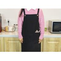 China Home Kitchen Cooking Apron , Canvas Cooking Apron With Adjustable Straps on sale
