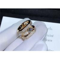 China 18K Pink Gold Messika Jewelry Diamond Paved For Wedding / Engagement messika jewelry bahrain wholesale