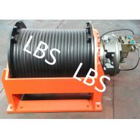 China High Speed Drilling Rig Hydraulic Crane Winch Double Groove 5-50 Ton wholesale