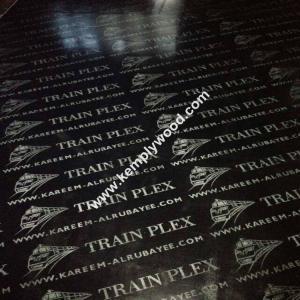 China Black film faced plywood with logo, black faced shuttering plywood, black film faced marine plywood wholesale
