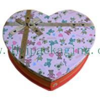 China heart-shape chocolate box wholesale