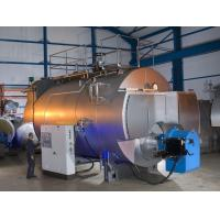 Quality Dual Fuel Gas Oil Fired Steam Boiler for sale