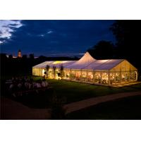 China 18m*35m Shelter Structure Fireproof Canvas Mixed Marquee Timeless Event Tent wholesale