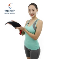 China Magnetic Therapy Tourmaline Thermal Self-Heating Neck Pad Neck Support Brace Protector wholesale