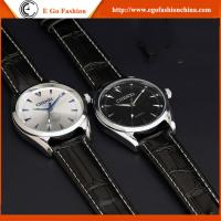 China 006A2 Roman Number OEM Watches Unisex High Quality Genuine Leather Watch Man Woman Watches wholesale