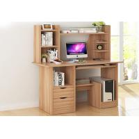 China Wood Portable Desktop Computer Desk With Drawers / Small Computer Table wholesale