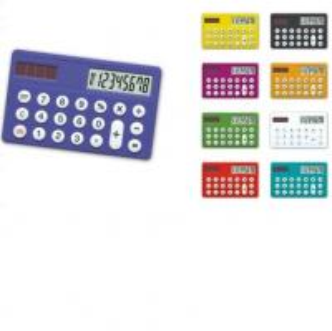China 8 digits colorful mini size dual power card calculator HF-1138 on sale