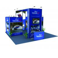 China Tension Fabric Graphic Modular Trade Show Booth Portable Lightweight wholesale