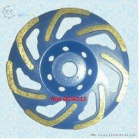 China L-shape Row Cup Grinding Wheel - DGWS13 wholesale