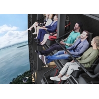 China 11 Meters Tall 4D Immersive Flying Cinema for City Propaganda Education wholesale