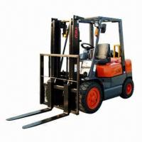 China Diesel Forklift, 3.5T Loading Capacity, 3.0m Related Lifting Height  wholesale