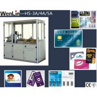 China High precision credit card maker machine 3 Punches L2250 × W1070 × H1850mm wholesale