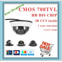 "China 700TVL BYD 1/4"" Color CMOS camera with IR-CUT plastic mini Dome security Camera 22 IR indoor day night CCTV Camera wholesale"