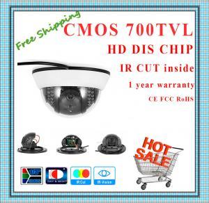 "China 700TVL BYD 1/4"" Color CMOS camera with IR-CUT plastic mini Dome security Camera 22 IR indoor day night CCTV Camera wholesale"