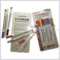 China Regular nib Fabric paints water based 20 colors permanent textile marker pens wholesale