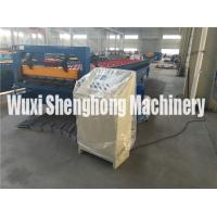 China Construction Metal Deck Roll Forming Machine / Steel Rolling Machine wholesale