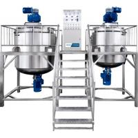 China Durable Shampoo Cosmetic Mixing Machine Welded Reactor With Transfer Pump wholesale