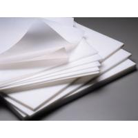 China Valve PTFE Teflon Sheet / PTFE Sheet High Density 2.1 - 2.3 g/cm³ wholesale