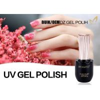 China Custom Logo UV / LED Type One Step Color Polish Gel No Yellowish Easy Apply wholesale