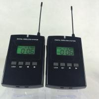 China Portable 008C Wireless Audio Guide System 800Mhz Tour Guide Device CE / ROHS Certification wholesale