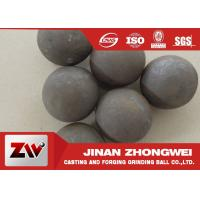 China Good wear resistance Mineral Processing Forged Grinding Ball Dia 25-125mm wholesale