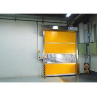 Wholesale English Man-Machine Interface Industrial High Speed Door With Shoulder Protection from china suppliers