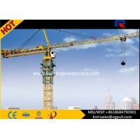 Quality 65m Jib Length Mobile Hammerhead Tower Crane 45kw Motor Power Remote Control for sale
