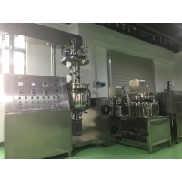 Buy cheap High Shear Lotion Cream Vacuum Mixing Emulsifying Cosmetic Making Machine for from wholesalers