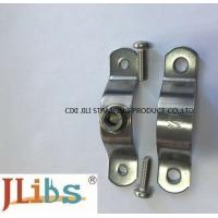 China Flexible Coupling Pipe Clamp Bracket Stainless Steel P Pipe Clamp For Water Pipeline wholesale