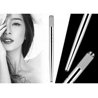Buy cheap Professional Eyebrow Heavy Silver Manual Pen With Hairstroke Technology For from wholesalers