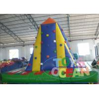 China 5 X 5M Inflatable Sports Games Inflatable Rock Climbing For Kids / Adults wholesale