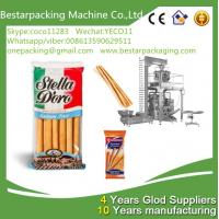 China High speed packaging machine with multi heads weigher for food bread sticks ,breadsticks filling machine wholesale
