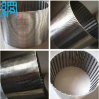 China V shaped Wire Welded Stainless Steel Screens wholesale