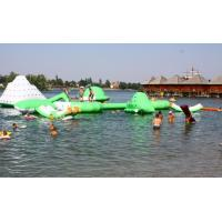 China Commercial Inflatable Water Park /  Floating Water Playground For Adults Or Children on sale