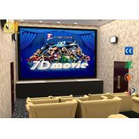 China Shooting Games 7D Roller Coaster Simulator / 7d Movie Theater on sale