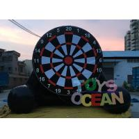 Hot Air Welding Inflatale Soccer Dart Air Sealed Game For Football Shooting